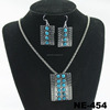 China Wholesale Pendant Statement Necklace And Earring