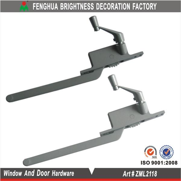 Zamac window winder, casement window with winder
