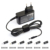 12V 24W wall type universal ac adapter with UL certification