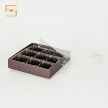 Wholesale Custom Food Container Plastic PET Chocolate Tray