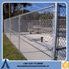 galvanized chain link fence fabric/galvanized safety chain link fence/galvanized chain link fence gates