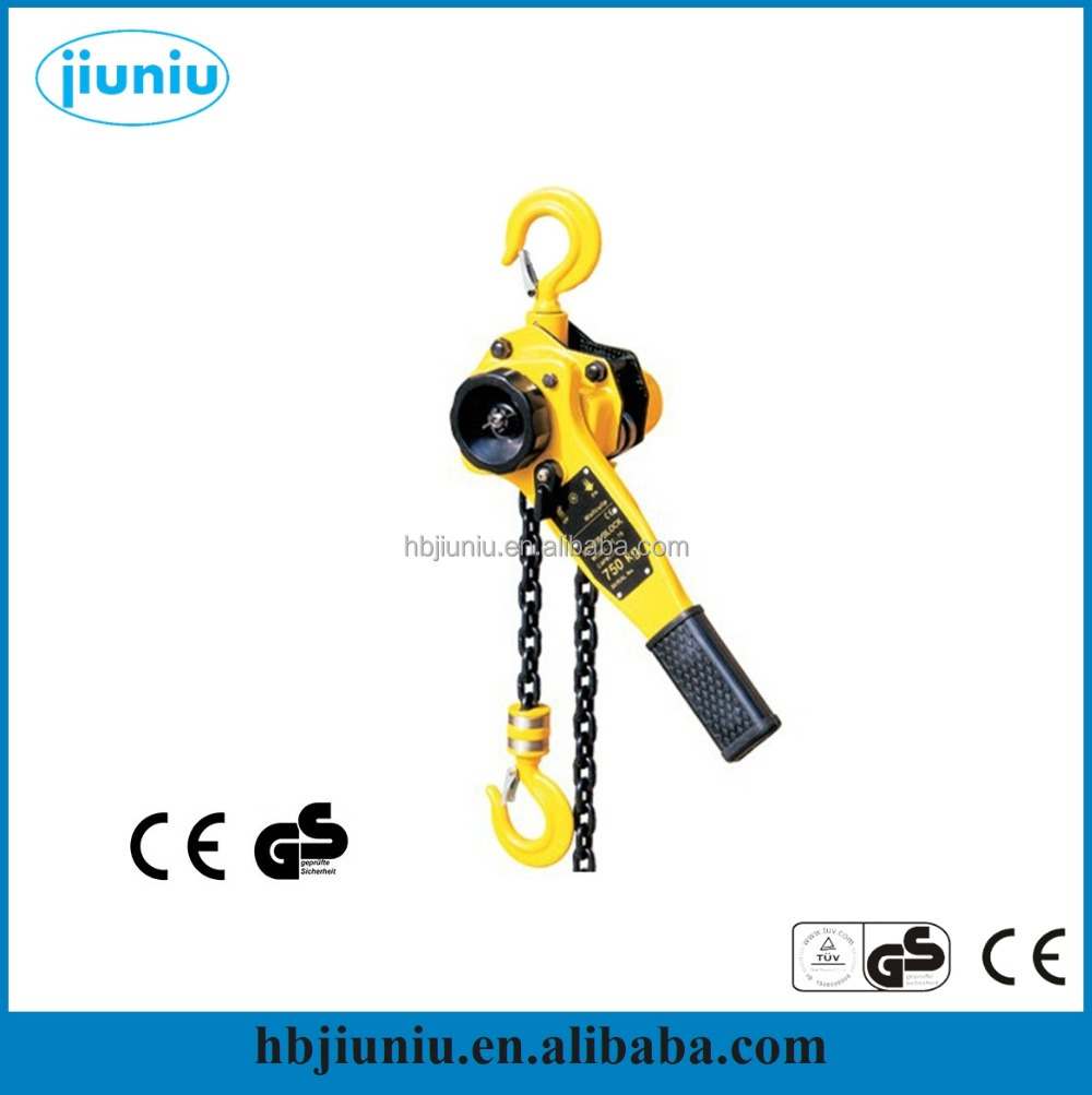 Manual Lever Chain Hoist 0.75T-9T, Hand Operated Lever block