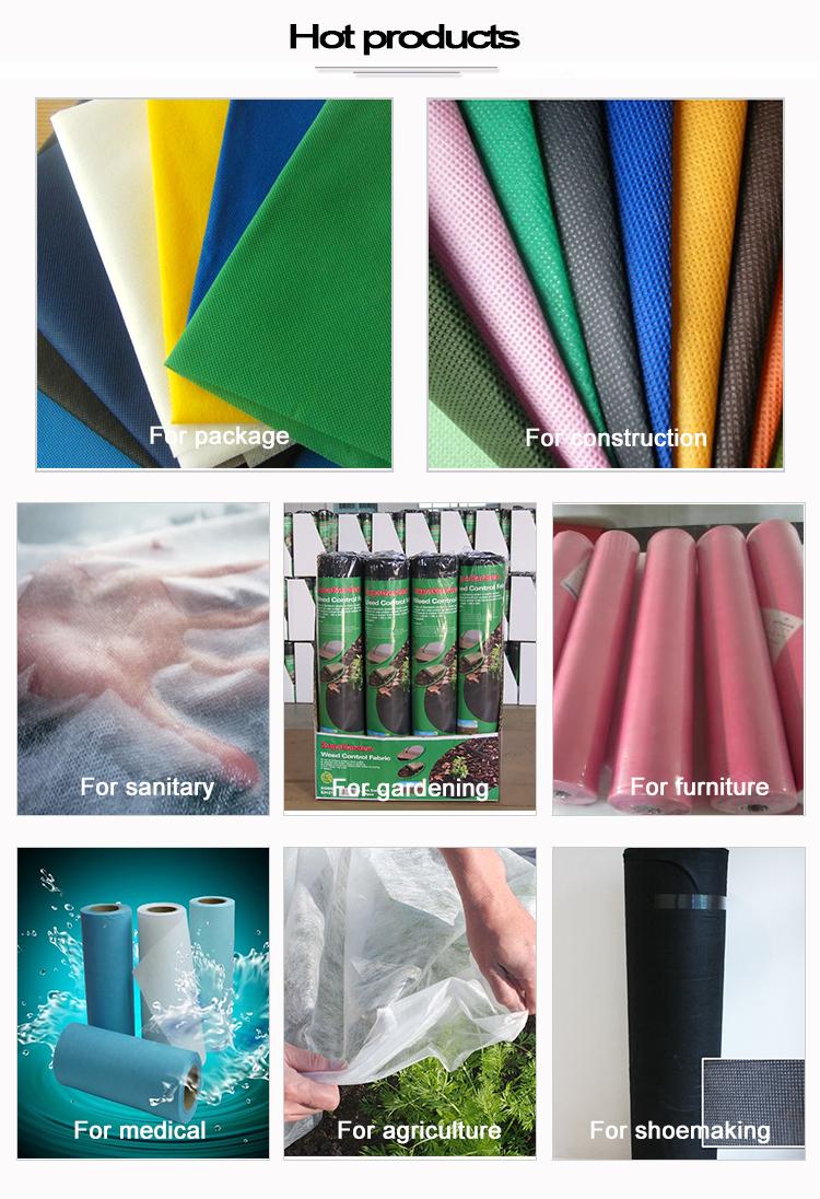 कम कीमत पुनर्नवीनीकरण गैर बुना कपड़े में किए गए चीन zhejiang yuanfan nonwoven सह।, लि।/पीपी nonwoven कपड़े/पीपी गैर बुना कपड़ा
