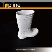 Soft rubber foam cheap eva white rain boots