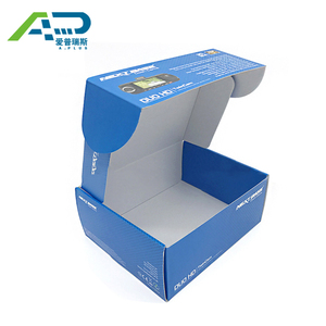 Best Price Printed White Corrugated Carton Box And White Corrugated Box With Custom Logo