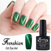 Frenshion Wholesale 2017 Nail Art Beryl Green Cat Eye Gel Polish Uv Gel Need Magnet Most Selling Korean Nail Polish Gel Color