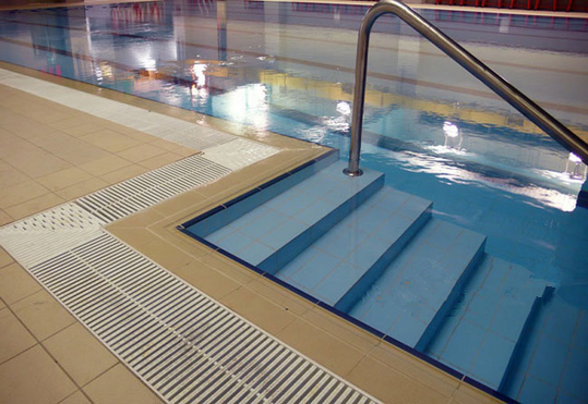 Outdoor Swimming Pool Grate Pvc Pool Grating Cheap