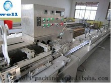 Fully automatic single-head cotton buds swab bar making machine