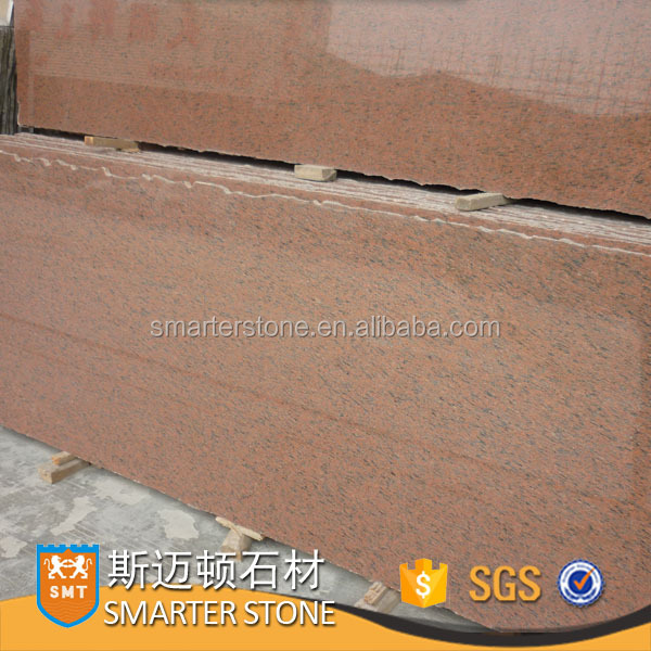 Tropic rose imported granite red granite small slab polished&flamed