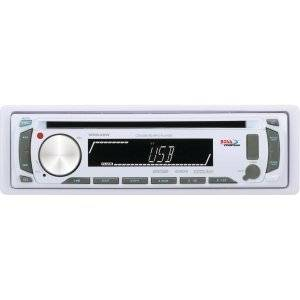 Boss MR648W Marine CD/MP3 Player - 240 W RMS - iPod/iPhone Compatible - Single DIN - CD-RW - MP3, CD-DA, WMA - AM, FM - 12, 18 x AM, FM Preset - Secure Digital (SD) Card, MultiMediaCard (MMC) - USB - Auxiliary Input - Detachable Front Panel - MR648W