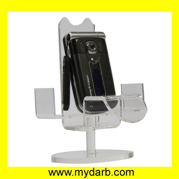Famous brand acrylic cell phone display stand