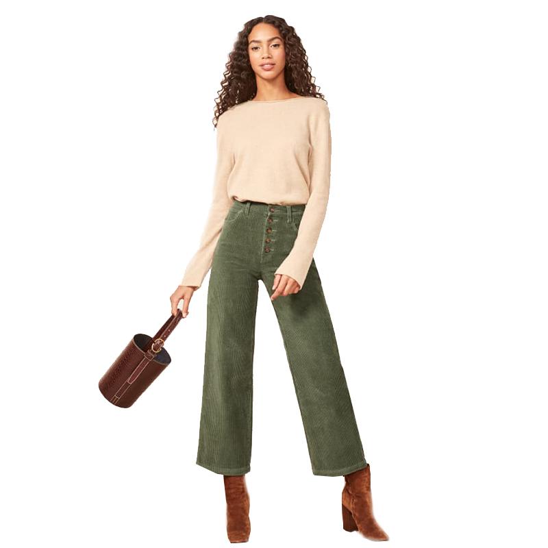 Pantalones De Pana Para Mujer Pantalon De Pierna Ancha 2020 Buy Mujer Pantalones De Pana Pantalones 2020 Mujeres Ancho De Patas Pantalones De Las Mujeres Product On Alibaba Com