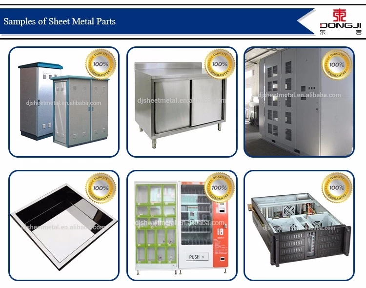 Custom OEM ODM Sheet Metal Stamping Cabinet Stainless Steel electronic metal Enclosure