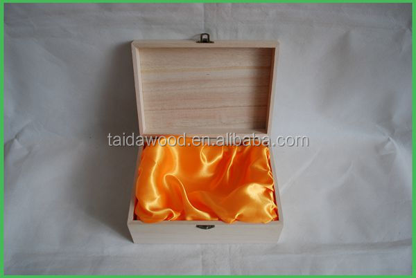 Sliding wooden box Color wooden box