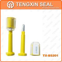 Waterproof liquid security door seal Plastic Seals with ISO SGS