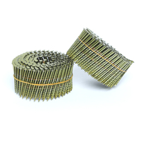 screw shank coil wire nails factory