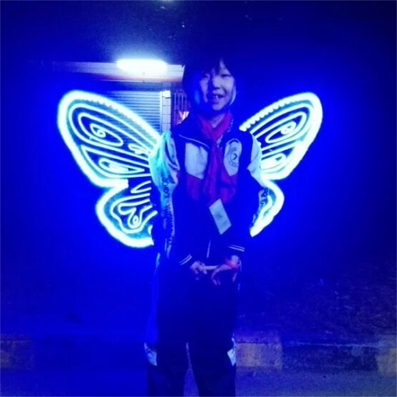The new light up fairy wing/kids butterfly wings /LED ...