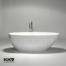 KKR solid surface portable shower tub, indoor portable hot tub