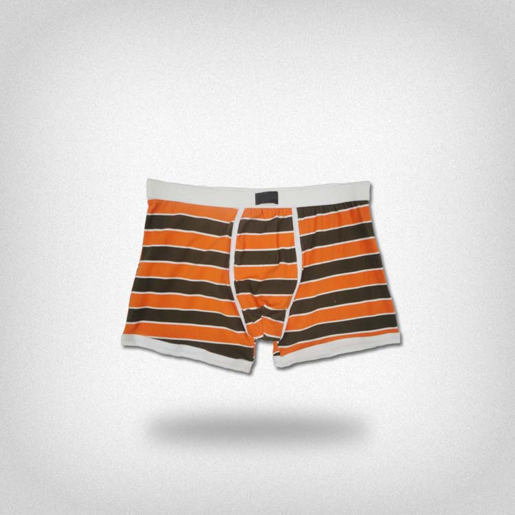 OEM New Fashion bright color stripe print top underwear brands for men