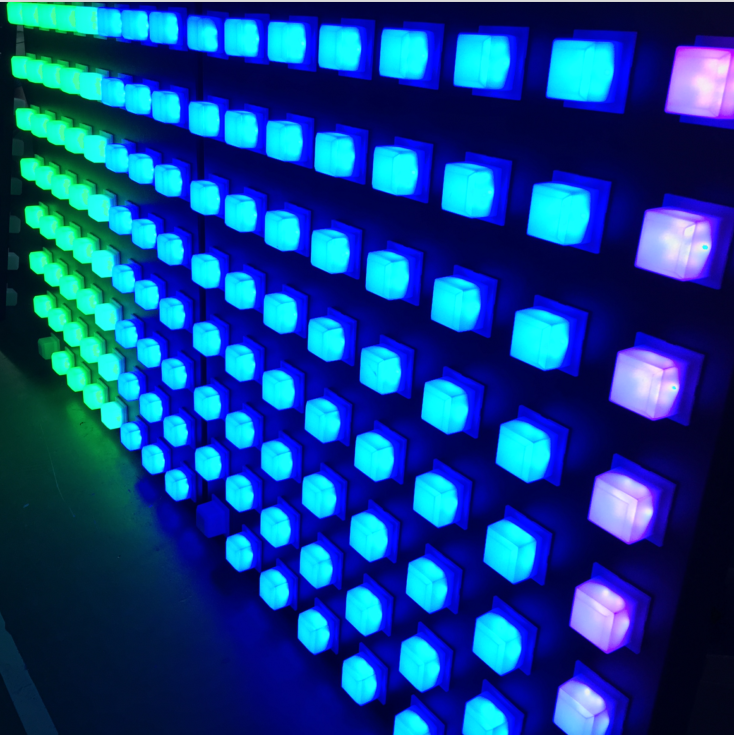 Waterproof Dot Lighting Rgb Led Pixel Point Light For Wall Or Ceiling Decoration Nightclub Lights Programmable