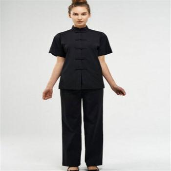 Newest 100 cotton spa uniform for women buy spa uniform for Spa uniform cotton