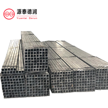 ERW square rectangular round black steel pipe with finest price