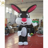 promotion inflatable rabbit/inflatable animal/inflatable cartoon for sale