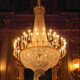 Traditional european empire style luxury large chandelier