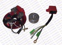 Racing Magneto Inner Rotor Kit Stator CDI XR CRF50 50CC 70CC 90CC 110CC 125CC 140CC Pit Dirt bike ATV Quad Thumpstar Parts Red