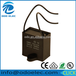double ceiling fan capacitors