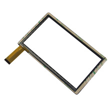 """7"""" Inch Black Capacitive Touch Screen Digitizer Glass Replacement for ALLWINNER A13 Q8 Q88 CUBE Q7 Tablet PC Free Shipping"""