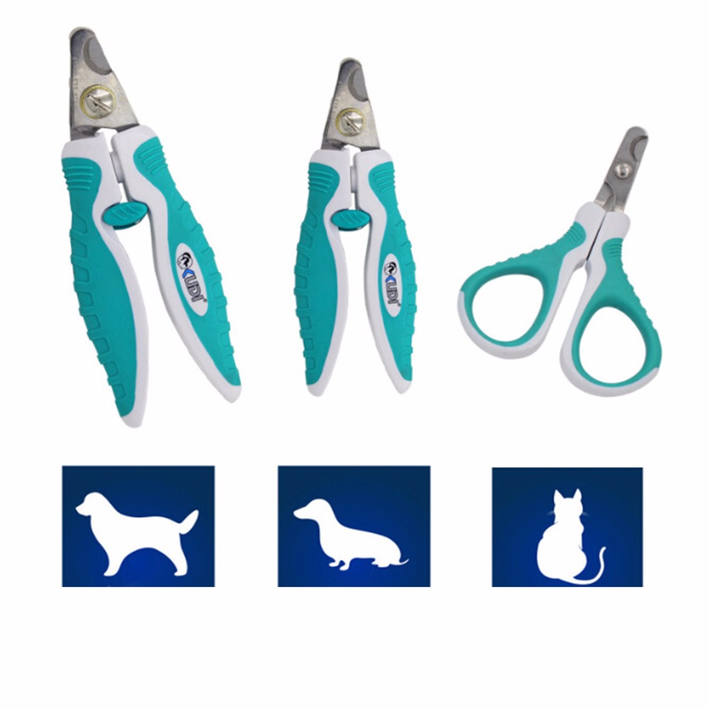Custom Plastic Stainless Steel Pet Cat Nail Clipper for Dogs Small Animals