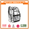 BSCI SEDEX Pillar 4 really factory audit Clear Transparent PVC Multi-pockets School Backpack Outdoor Backpack