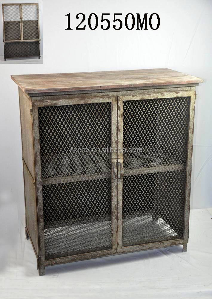 Vintage wire metal rustic furniture outdoor