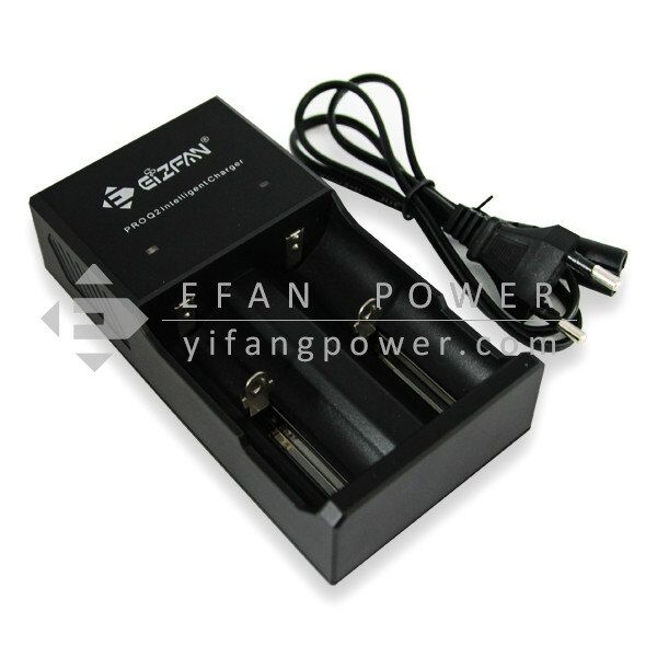 Wholesale Efan charger EFAN Pro Q2 2 bay 18650/26650/20700/21700 battery charger