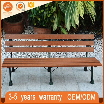 Durable Outdoor Bench Long Wood Garden Seats Benches For