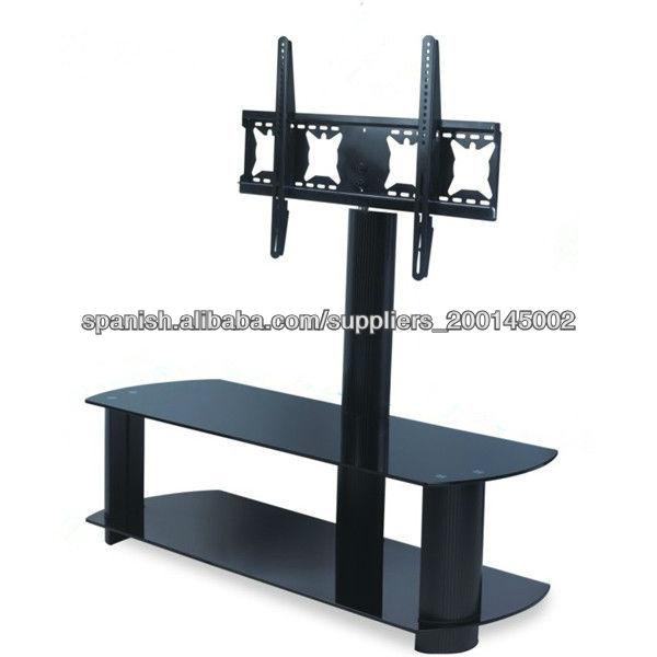 Giratoria soporte de suelo moderno soporte de tv de for Mueble con soporte para tv