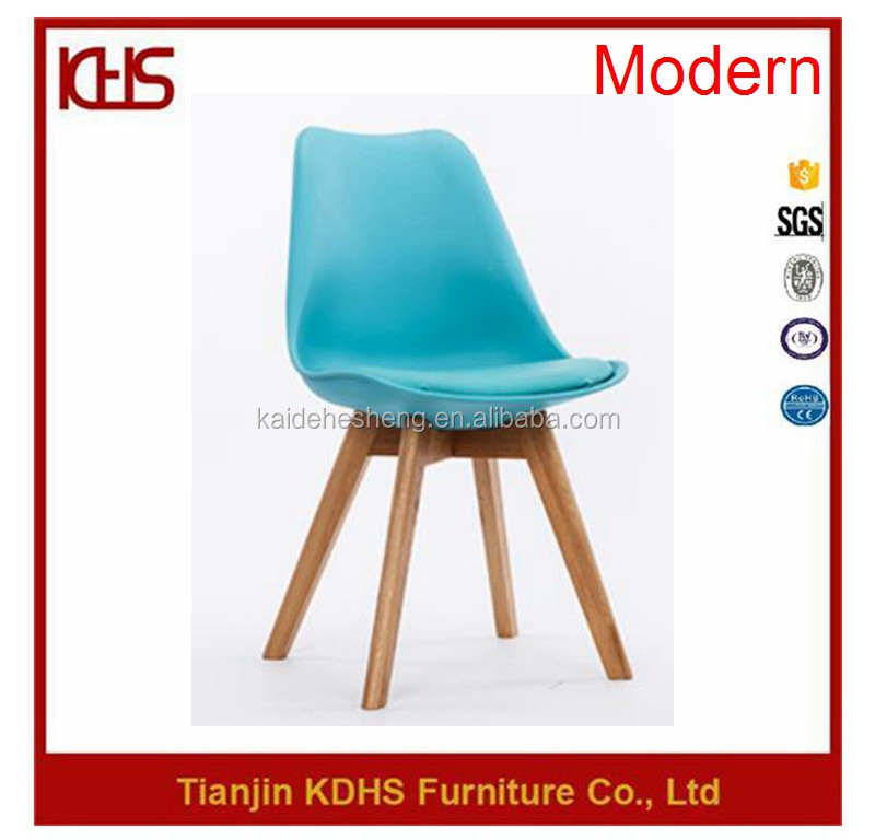 2017 New Trend Home Furniture Blue Leather Living Room Chair