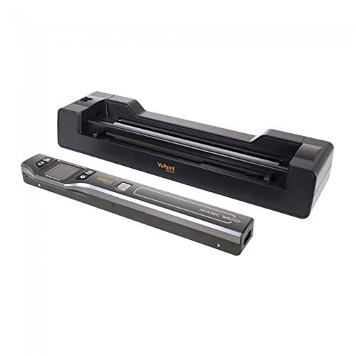 Vupoint Solutions Magic Wand Portable Scanner with Color LCD Display and Auto-Feed Dock (PDSDK-ST470-VP)