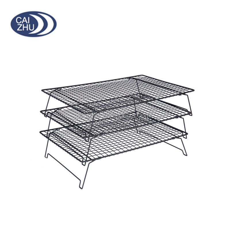 Top Quality 3 Tiers Stackable Wire Cake Baking Rack Cooling Rack ...