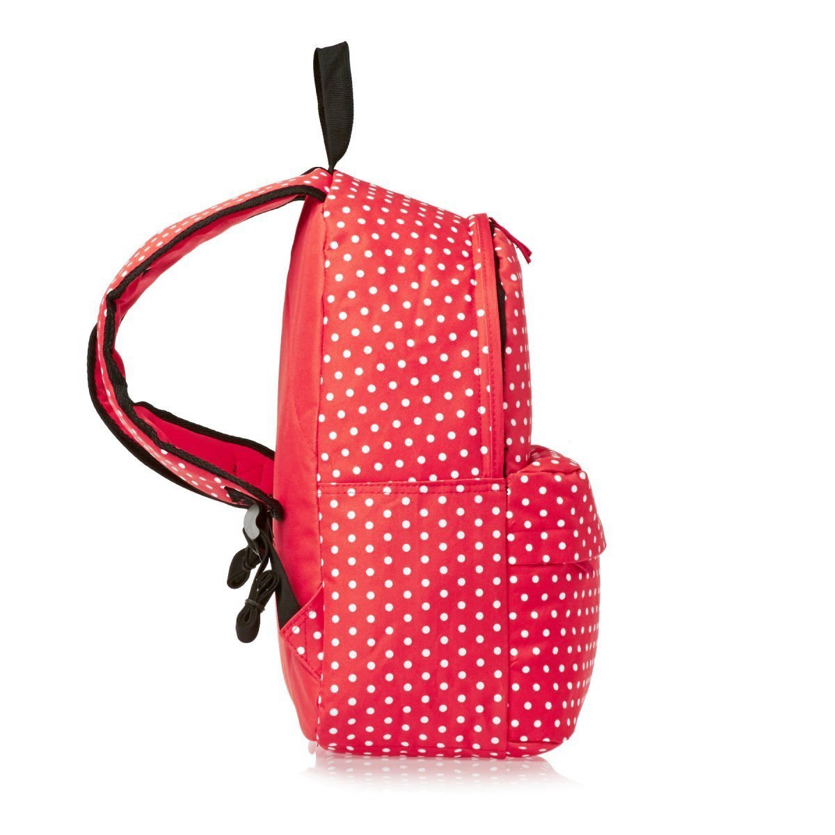 SWANE Paul Frank Style Stripe Canvas Polka Dot Backpack for Students   Kids 5cca3f3b0a63d
