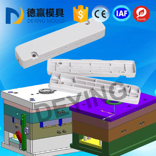 plastic injection cassette mould leather cable protection box mold