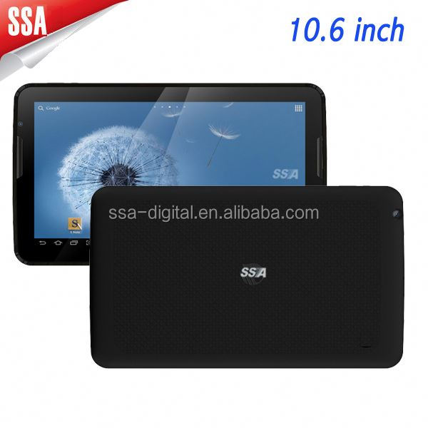 10.6 inch 1.5GHz Tablet PC with Wi-Fi, 3G, Bluetooth, GPS,FM(4G)