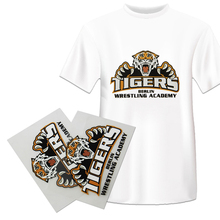 Qingyi hoge kwaliteit custom plastisol warmte transfers <span class=keywords><strong>sticker</strong></span> voor t-shirt
