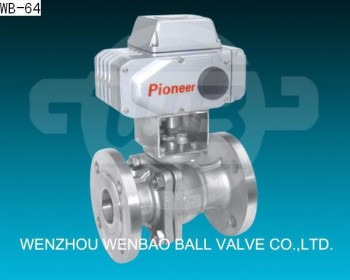 4 Inch Ball Valve Pvc Electric Actuator Ball Valve Dn20