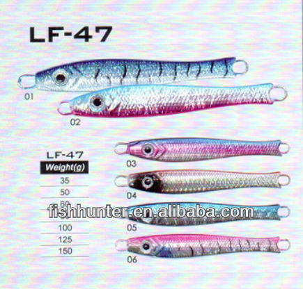 lead fish lead jig fishing supplies from china LF-47