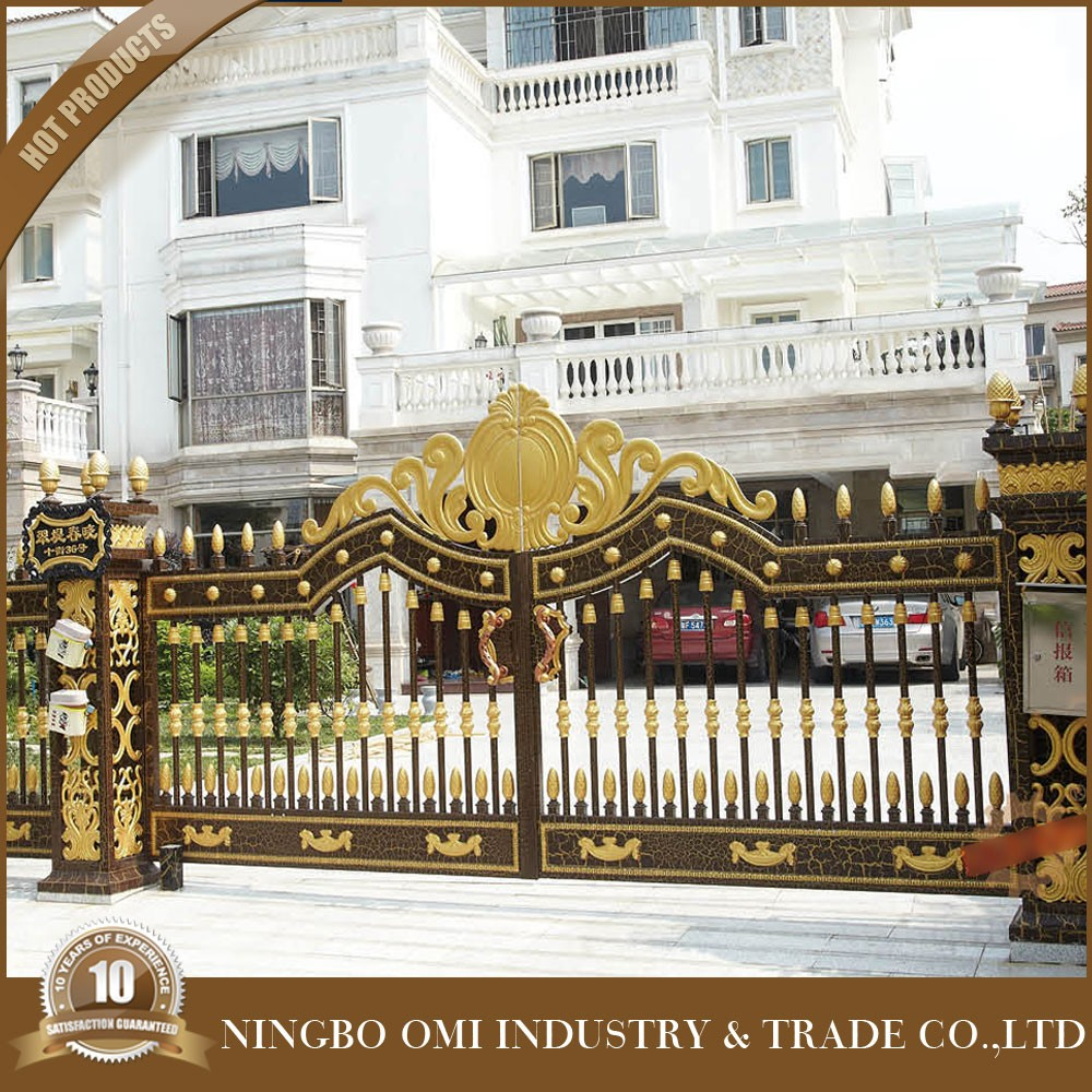 Bisini Luxury Design Gate,Swing House Main Gate Design