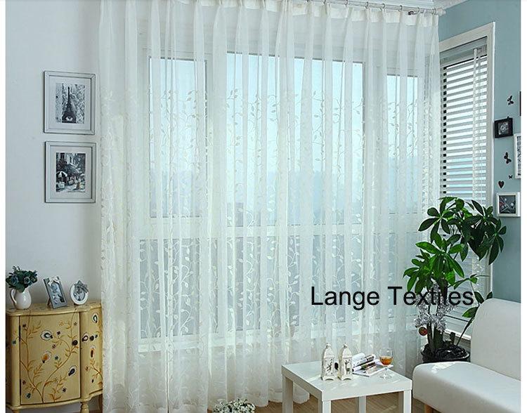 lib rez le bateau blanc tulle brod rideaux ikea pour les. Black Bedroom Furniture Sets. Home Design Ideas