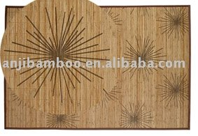 bamboo rug and mat