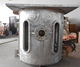 1 ton intermediate frequency scrap iron melting induction electric furnace